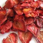 Cách làm dâu tây sấy khô tại nhà, sử dụng máy sấy hoa quả mini