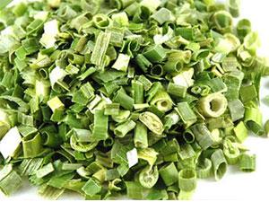 Hành lá sấy khô, rất tiện lợi để sử dụng lâu dài, dễ bảo quản