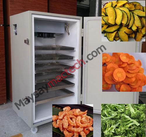 Máy sấy thực phẩm gia đình, sấy các loại thực phẩm rau củ quả, thịt, cá, tôm