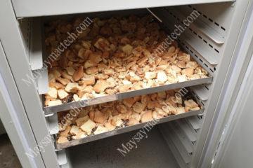 Nhiệt độ sấy bánh quy, bánh mỳ đảm bảo độ khô cao, giữ độ ngậy