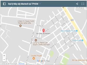 Mua máy sấy mactech tại Tp Hồ Chí Minh, liên hệ địa điểm gần nhất