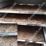 Nhộng sấy khô bằng máy sấy dân dụng, sấy nhanh khô, chất lượng tốt