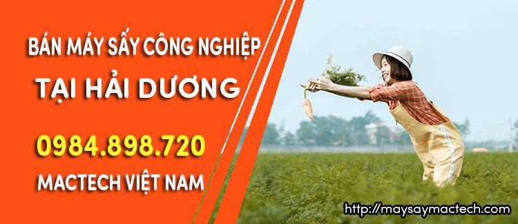 Bán máy sấy công nghiệp tại Hải Dương - Cty Mactech Việt Nam