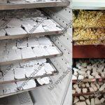 Máy sấy bột mini, chuyên sấy bột nghệ, bột sắn, bột thuốc và nhiều loại khác