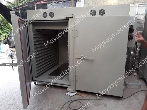 Máy sấy ớt công nghiệp MSD4000 cho phép sấy 400kg/lần