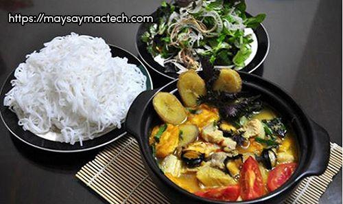 5 Món ngon từ chuối - Canh chuối nấu ốc