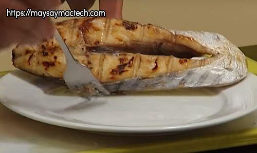 Hướng dẫn sấy cá khô bằng lò nướng - Sau khi sấy xong