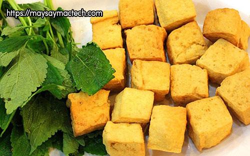 Một vài đồ ăn thức uống từ đậu nành - đậu phụ rán