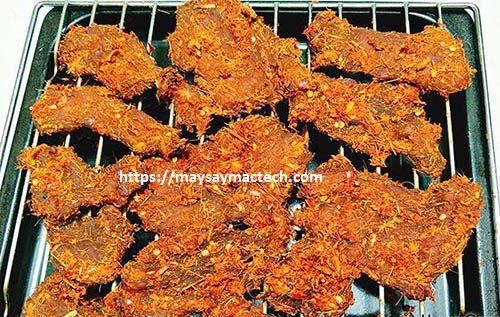 Cách làm thịt bò khô bằng thịt lợn tại nhà