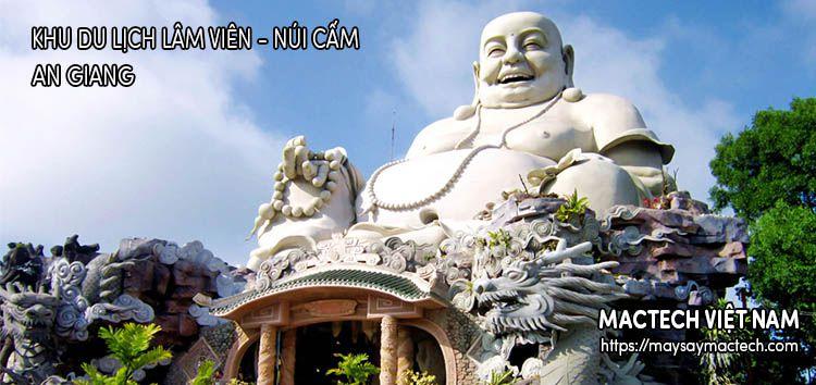 Khu du lịch Lâm Viên - Núi Cấm - An Giang