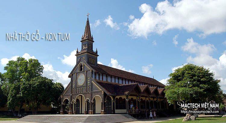 Nhà thờ gỗ - Kon Tum