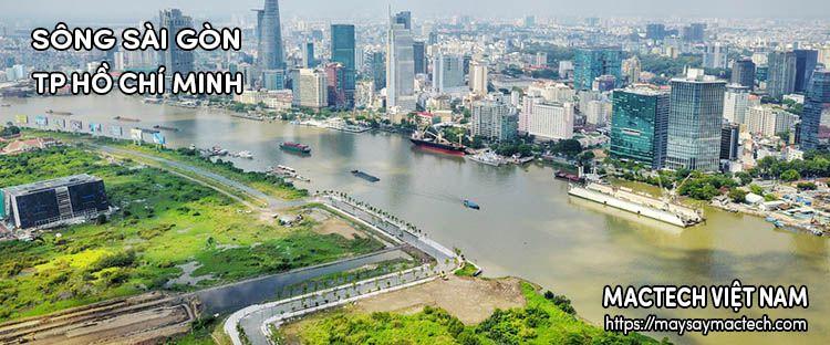 Sông Sài Gòn - TP Hồ Chí Minh