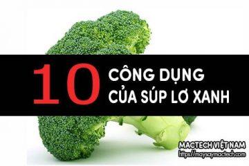 Bất ngờ với 10 công dụng của súp lơ xanh – bông cải xanh
