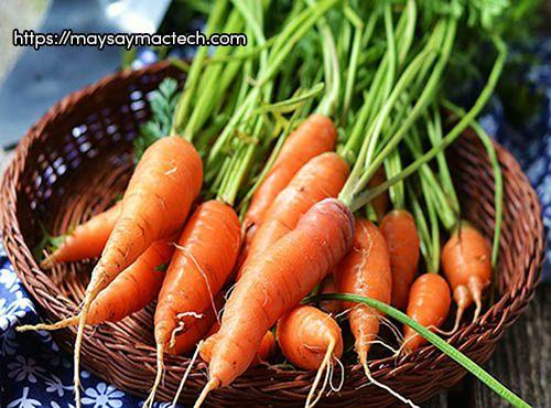 Những công dụng bất ngờ từ củ cà rốt