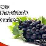 Tác dụng tốt của quả nho, ăn nho rất tốt cho sức khỏe