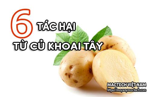 Tác hại của khoai tây nếu sử dụng không đúng cách