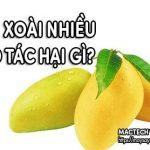 Một vài chú ý để tránh tác hại từ quả xoài khi ăn