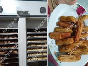 Cách sấy chuối dẻo, tham khảo cơ sở sấy chuối dẻo tại Chiêm Hóa, TQ