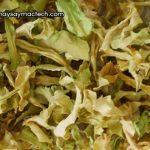 Bắp cải sấy khô, làm bắp cải khô như thế nào?