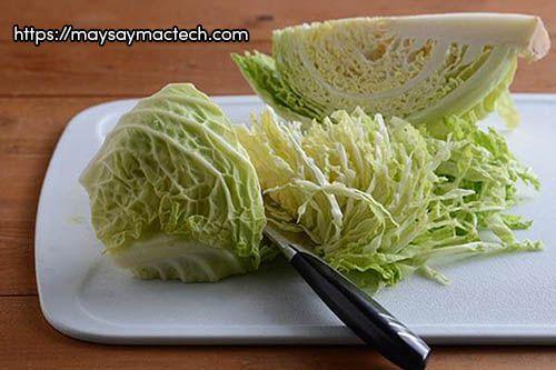 Tác dụng không ngờ của bắp cải sấy khô (bắp cải khô)