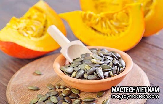 Lợi ích khi ăn hạt bí