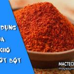 Công dụng của ớt khô, tốt nhưng không nên ăn nhiều