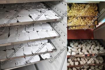 Máy sấy tinh bột sắn, tham khảo thiết bị sấy của hãng Mactech