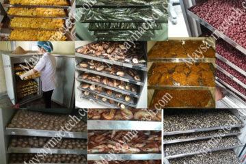 Máy sấy thực phẩm đa năng, thiết bị phù hợp sấy đa dạng sản phẩm