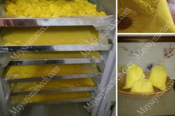 Máy sấy tinh bột nên dùng loại nào, tham khảo từ hãng Mactech