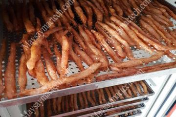 Máy sấy hải sản đáp ứng sấy khô từ 10kg đến 1 tấn sản phẩm