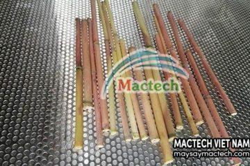 Cách làm ống hút tre tại nhà, tham khảo cách sấy từ Mactech Việt Nam