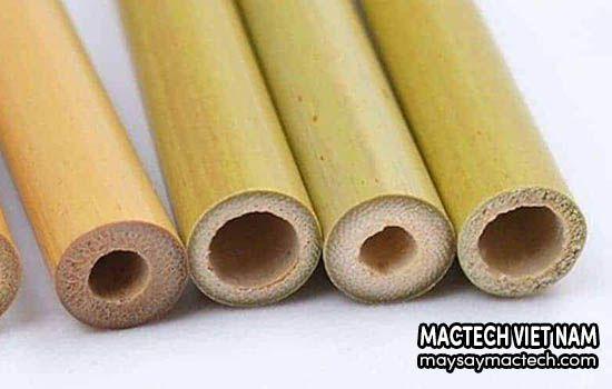Cách làm ống hút tre tại nhà