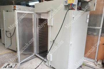 Máy sấy công nghiệp 150kg, sấy nhiệt độ cao và nhiều giai đoạn sấy
