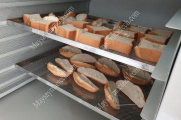 Máy sấy bánh mì, đảm bảo bánh mì khô đồng đều, bảo quản lâu dài
