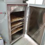 Máy sấy 10 tầng của hãng Mactech, phù hợp sấy dưới 50kg nguyên liệu