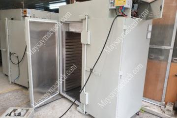 Máy sấy nhiều cảm biến nhiệt đảm bảo điều khiển nhiệt chính xác