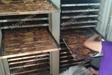 Máy sấy măng khô chuyên dụng, sấy nhanh khô, màu đẹp