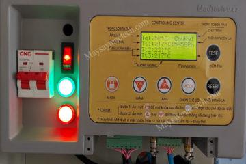 Máy sấy 3 cảm biến nhiệt vị trí khác nhau trong buồng sấy