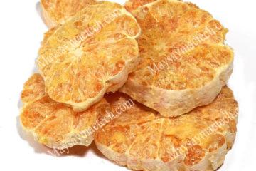 Cách sấy quả bưởi khô giòn, sấy bưởi cam chanh thái lát khô giòn