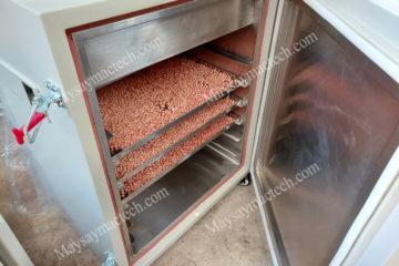 Giá máy sấy ngũ cốc, sấy khô và sấy chín giòn, máy hãng Mactech
