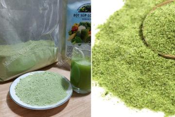 Bột rau củ sấy lạnh và sấy thăng hoa, nên sử dụng loại nào