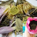 Sấy khô chè ướp sen như nào, tìm hiểu cách sấy trà sen tốt nhất